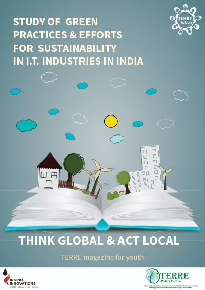Study of green practices & efforts for sustainability in I. T.  industries in India