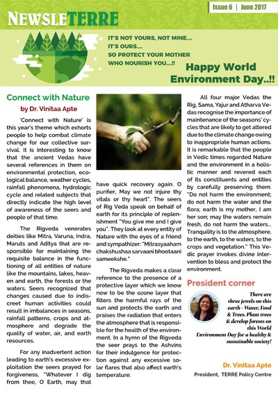 NewsleTERRE Current Issue