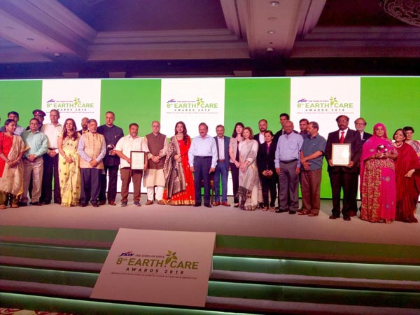 Earth Care Award Ceremony at Delhi