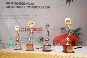 Environmental quiz competition for the Bombay Municipal school students