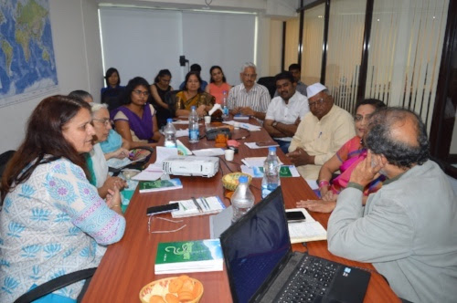 Interaction with Corporators of Pune Municipal Corporation at TERRE office