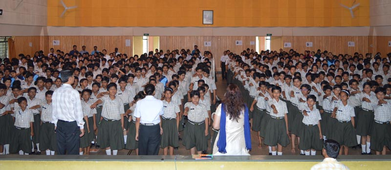 Pre-Ozone day at Sainik School, Pirangut