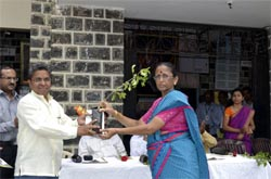 Tulsi plants distribution on World Ozone Day