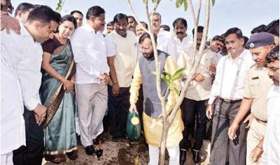 Hon'ble Environment and Forest Minister Mr. Prakash Javadekar
