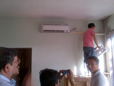 HCFC free air-conditioners
